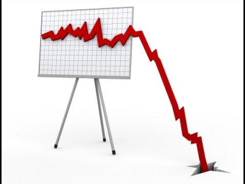 aktiemarked falder