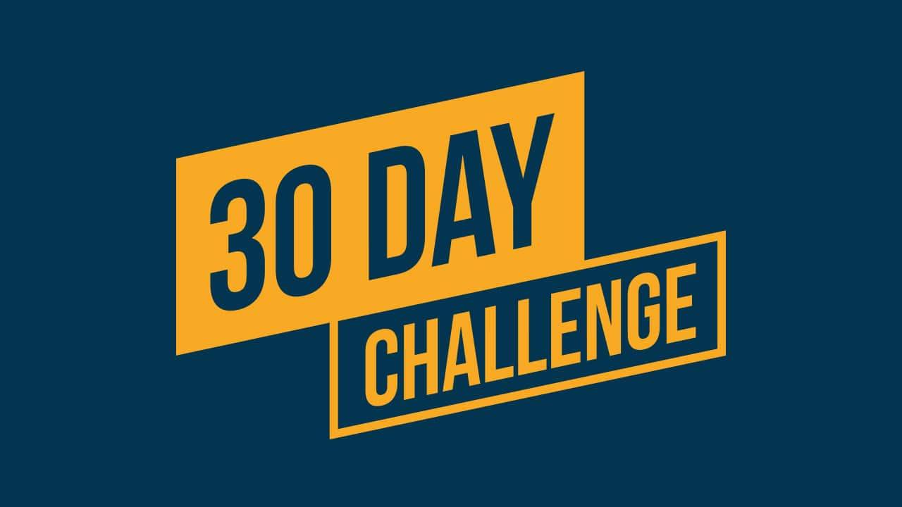 c2b3554992d 30 dags udfordringer ⇒ 10 forskellige udfordringer som du skal prøve
