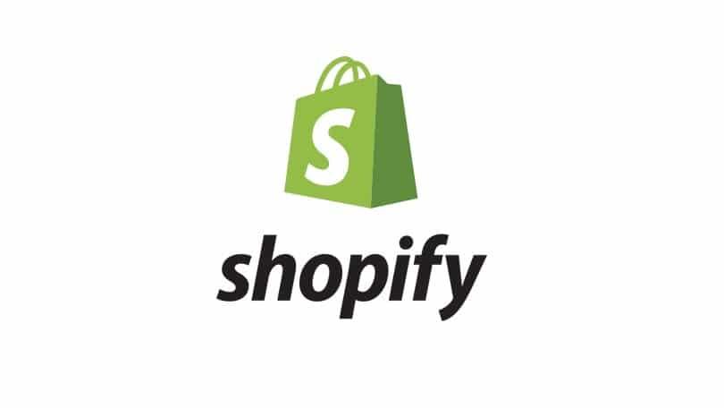 shopify aktier logo